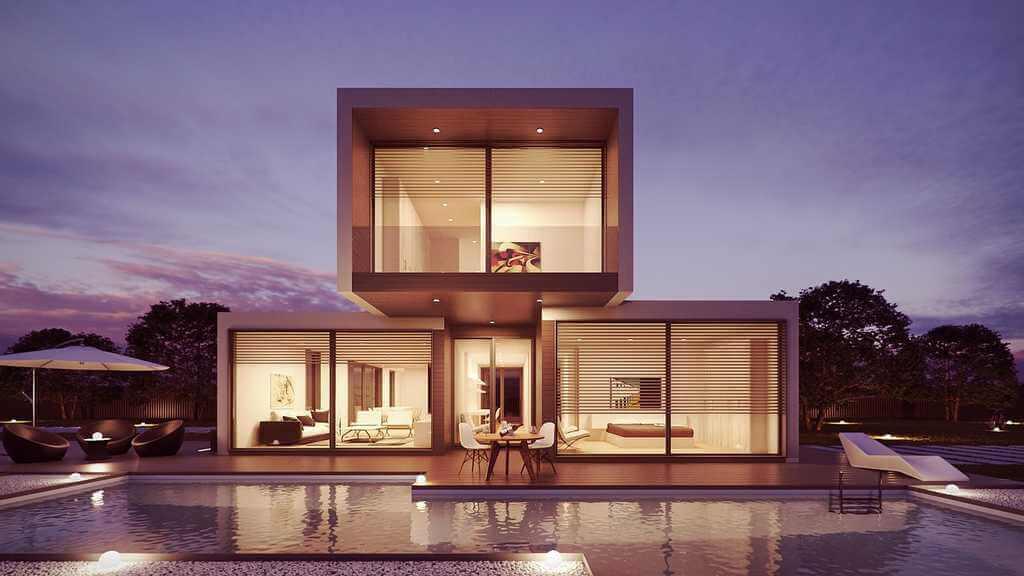 Lyxvilla eller ett enklare boende? Hur mycket du får låna beror främst på din inkomst.