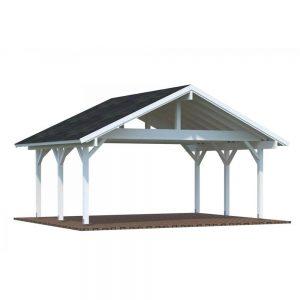Carport Robert Shingel, 20,6 m², Vit