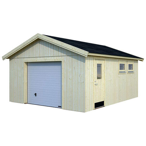 Garage Andre 24,6 m² Takpapp