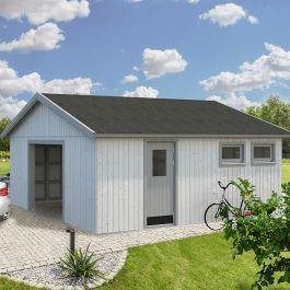 Garage Andre 32,1 m2 (inv. 28,5 m2) utan Port