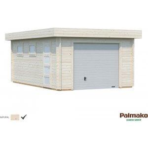 Garage Rasmus med takskjutport - 19,0 m²