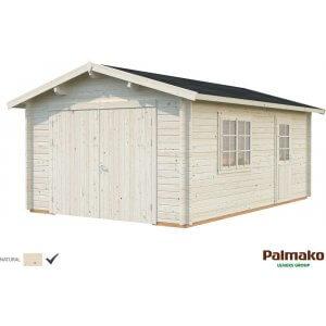 Garage Roger med slagport - 19,0 m²