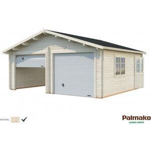 Garage Roger med takskjutport - 28,4 m²
