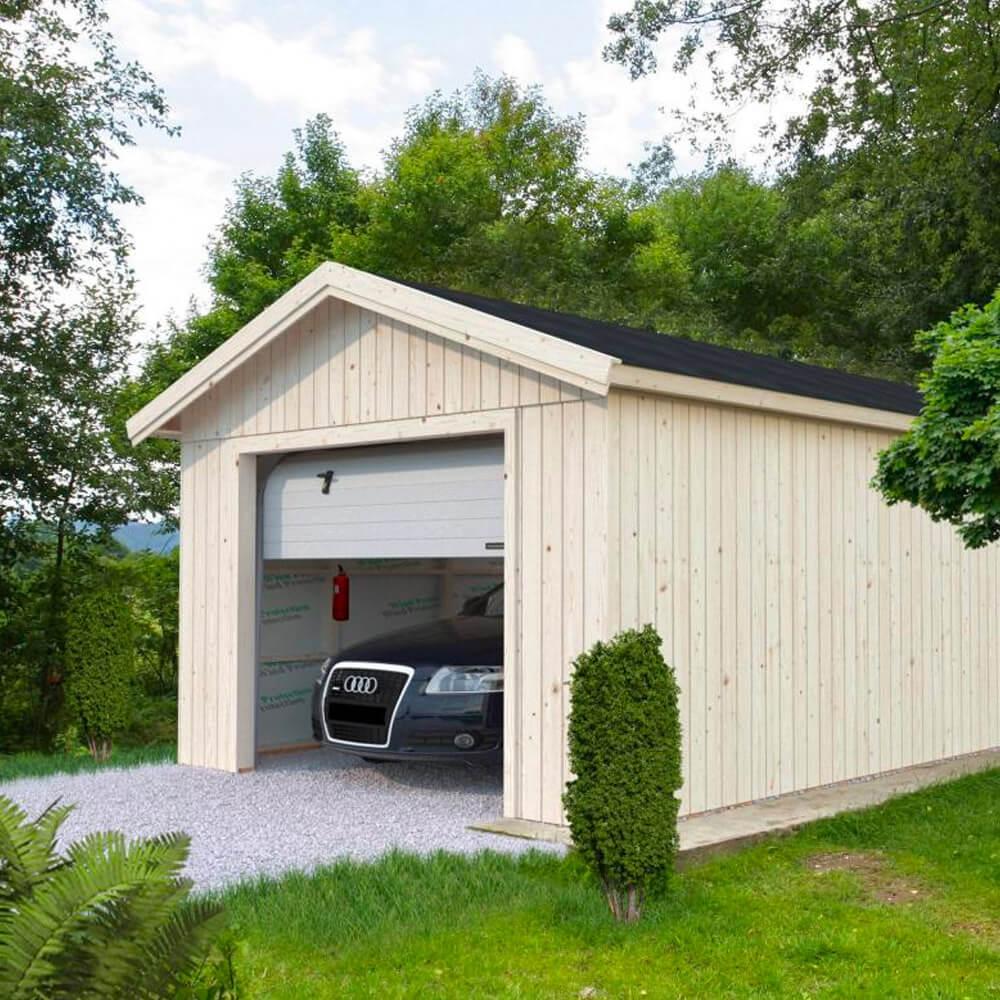 Garage Sten 24,9 m² Shingel