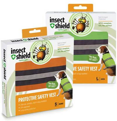 Insect Shield® reflexväst hund