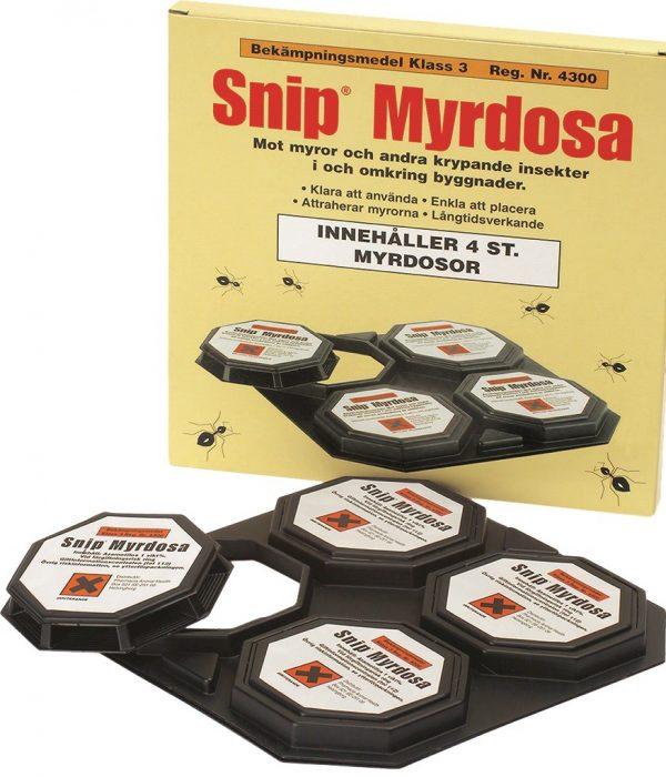 Snip® insektsdosa 4-pack