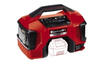 Einhell 4020460, 21 l/min, 11 Bar, 8 l/min, 21 l/min, 71,5 dB, Svart, Röd