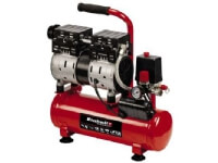 Einhell TE-AC 6 Silent, 110 l/min, 1450 RPM, 8 Bar, 6 l, 57 dB, Svart, Röd