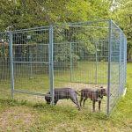 Nätsektion till hundgård/hönsgård, 1800 x 1200 mm