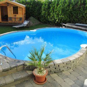 Planet Pool Stålväggspool Premium Åttaform 6,25 x 3,6 x 1,5m Persia