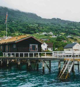 Attefallshus som båthus