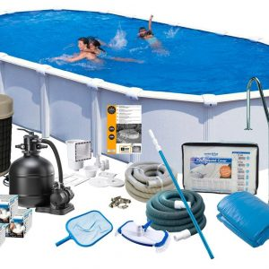 Swim & Fun Poolpaket Deluxe 915x470x132