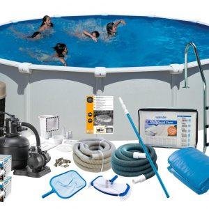 Swim & Fun Poolpaket Deluxe Ø550x132