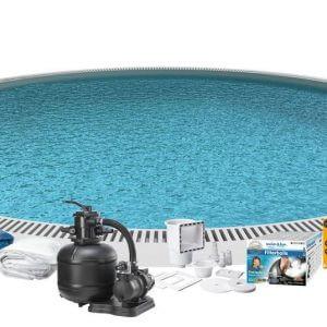 Swim & Fun Poolpaket Inground Ø420x150