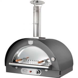 Clementi Family Gas Pizzaugn 60x60 cm. Antracit