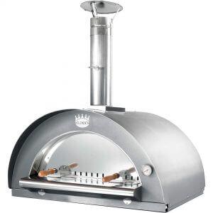Clementi Family Vedeldad Pizzaugn 100x80 cm. Rostfritt stål