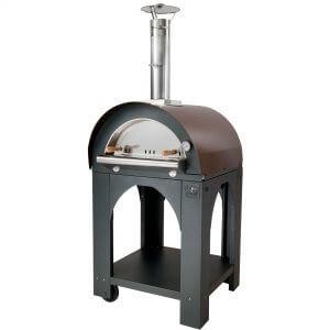 Clementi Pulcinella Vedeldad Pizzaugn 100x80 cm. Koppar