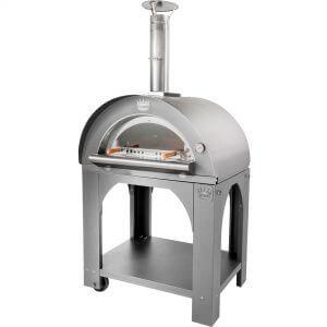 Clementi Pulcinella Vedeldad Pizzaugn 100x80 cm. Rostfritt stål