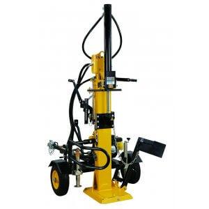 Vertikal vedklyv med dragkrok - 4100W
