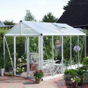 Vitavia Växthus/Uterum Zeus 10 kvm Aluminium Glas & Polykarbonat