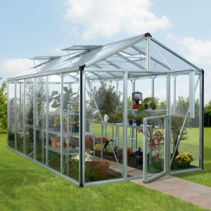 Vitavia Växthus/Uterum Zeus 11,9 kvm Aluminium Glas & Polykarbonat