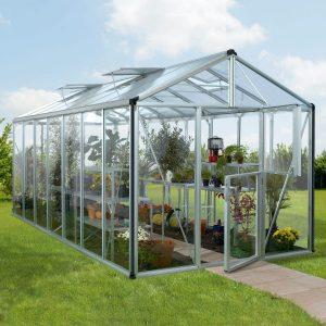 Vitavia Växthus/Uterum Zeus 13,8 kvm Aluminium Glas & Polykarbonat