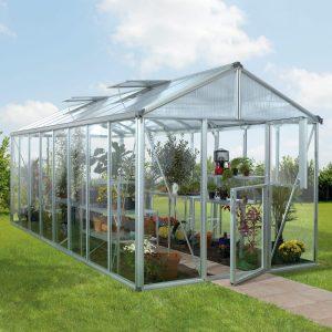 Vitavia Växthus/Uterum Zeus 15,7 kvm Aluminium Glas & Polykarbonat