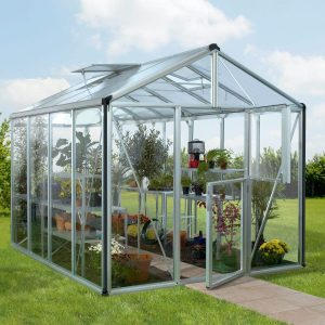 Vitavia Växthus/Uterum Zeus 8,1 kvm Aluminium Glas & Polykarbonat